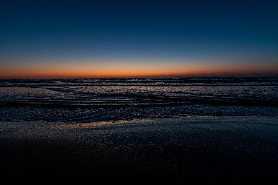 2016.03.21千里浜の夕焼け6