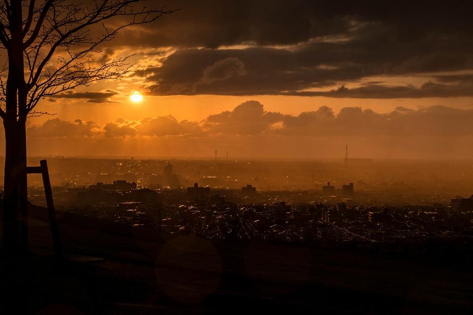 2016.03.24雨の夕焼け2