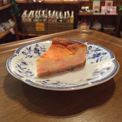 桜チーズケーキ2