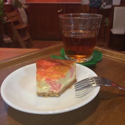 桜チーズケーキ3