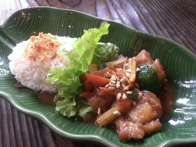 タイ風鶏チリプレート ブログ用