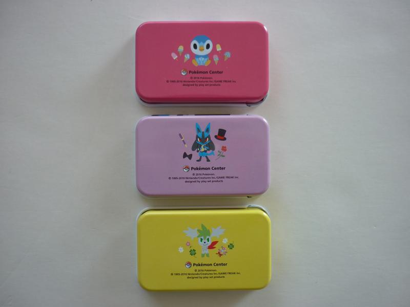 プチ缶コレクション Pokemon time DP シークレット 裏