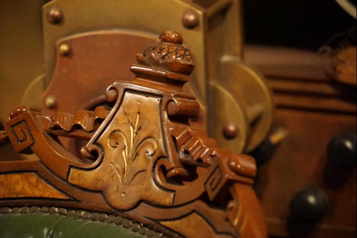 TDS 2015 海底2万マイル キャプテンネモ 書斎 地図の部屋