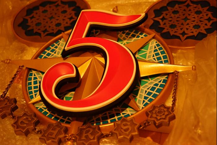 東京ディズニーシー 5周年 アラビアンコースト パークオーナメント cafewalt