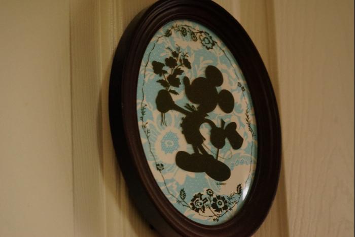 東京ディズニーランドホテル ミッキー 壁掛け cafewalt