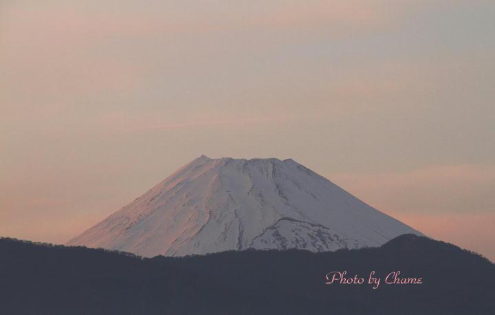 3月17日 17-17 夕方の富士山-11