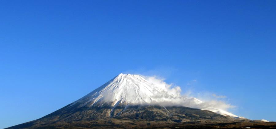 20160119雪の富士山-1