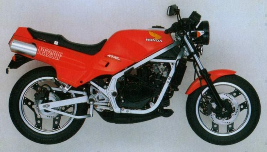 Honda NS250R Naked 85
