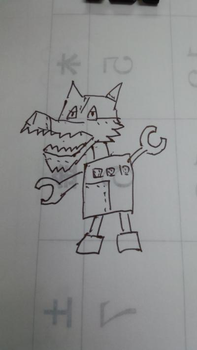 オオカミオーロボ