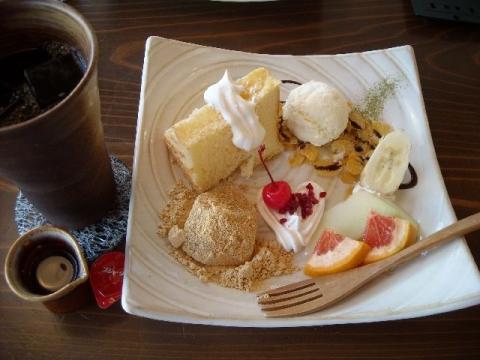 町屋カフェ・H27・6 デザート