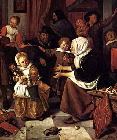 Netherlands-1600 17世紀オランダの家族