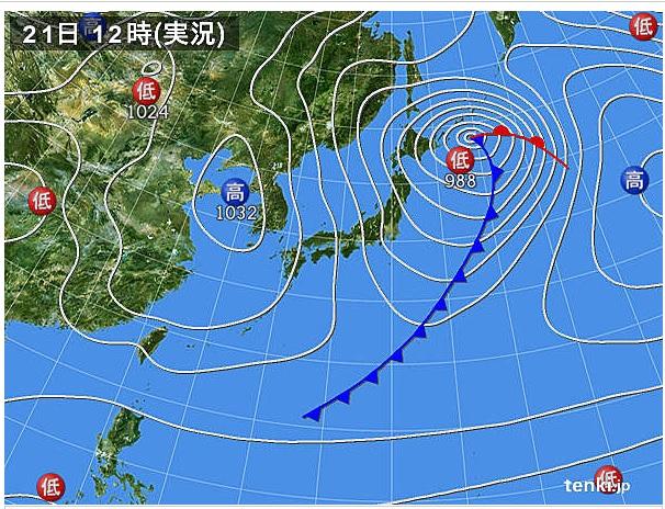 221-12天気図