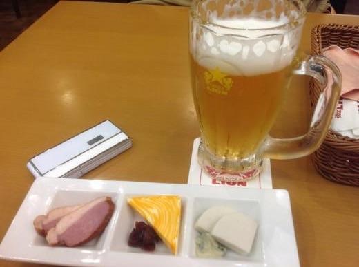 160401羽田空港ちょい飲み