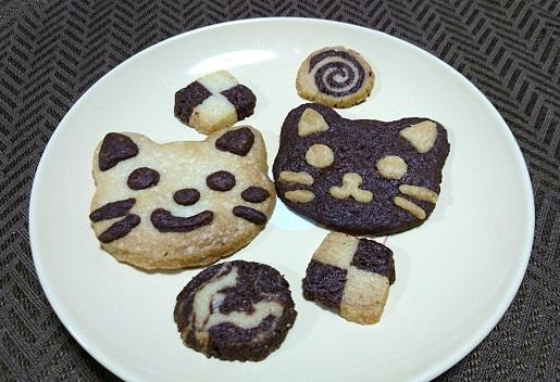 手作り猫クッキー