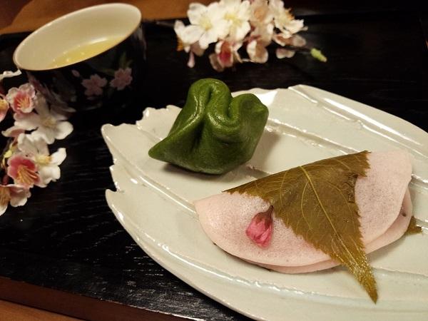 桜餅&草餅600 - コピー