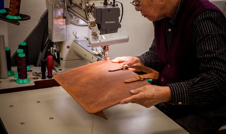 ビジネスボナパルト縫製
