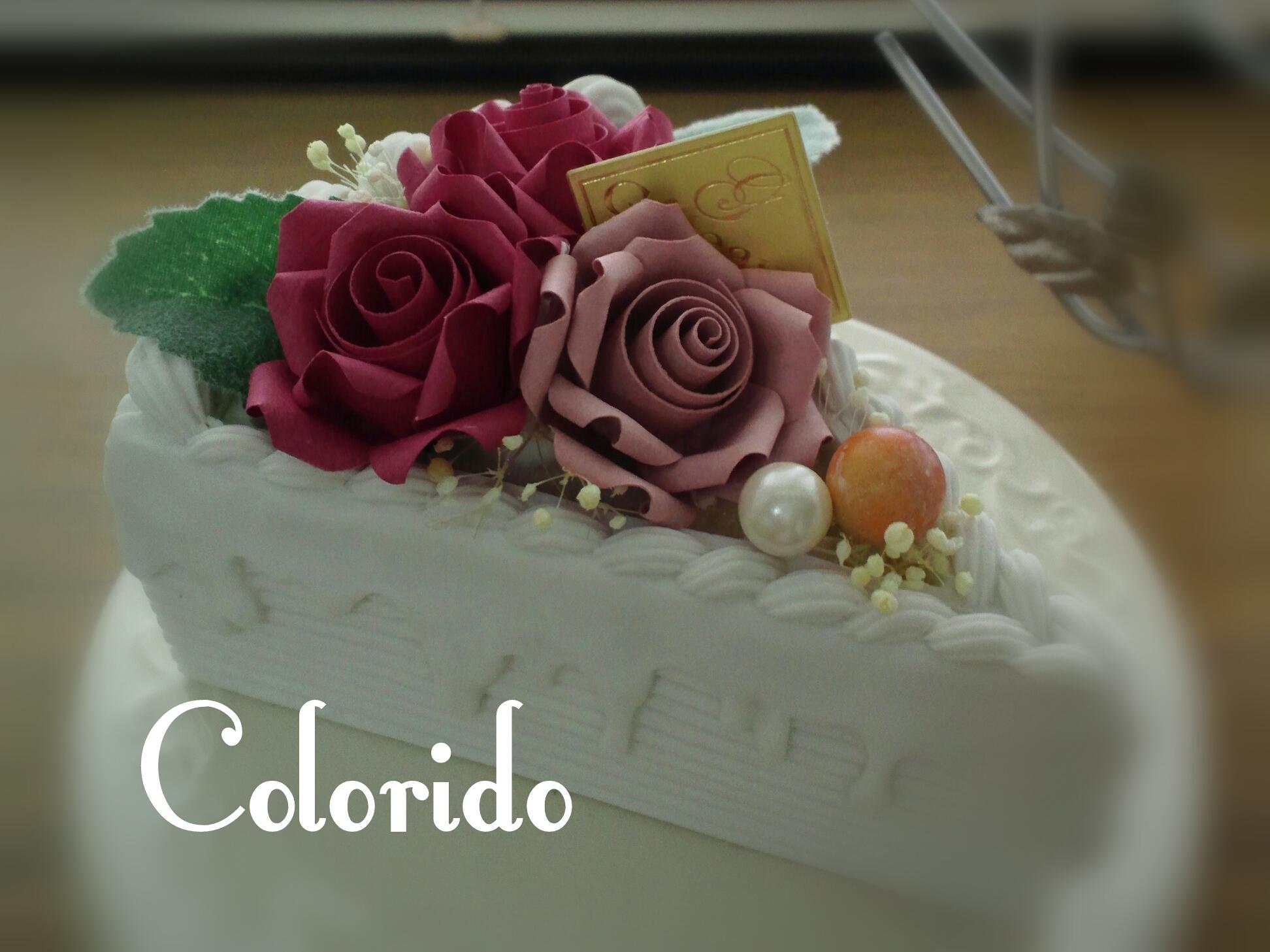ばらケーキ