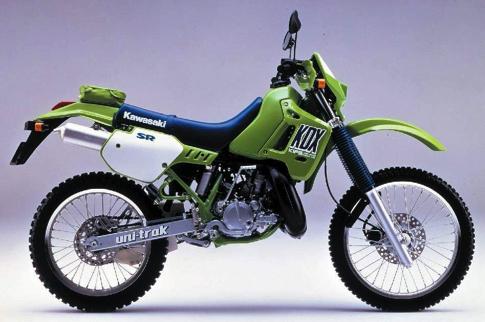 Kawasaki KDX200R copy