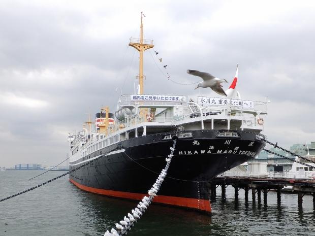 ④昨日の横浜港