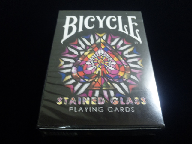 Stained Glass Playing Cards (BICYCLE) (1)