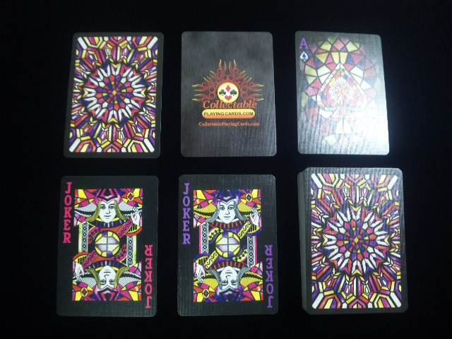 Stained Glass Playing Cards (BICYCLE) (5)