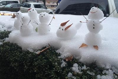 雪ダルマ達2016