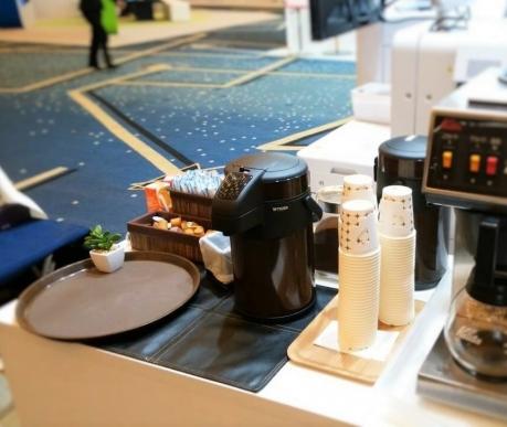 国際会議 展示ブース コーヒーケータリング