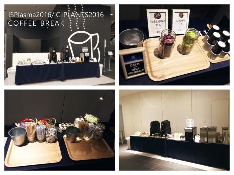 ISPlasma2016 IC-PLANTS2016 Coffee Break