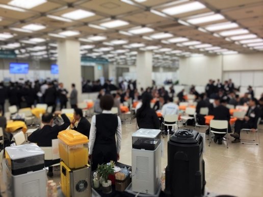 TRC 東京流通センター 展示会 プライベートショー ドリンクケータリング