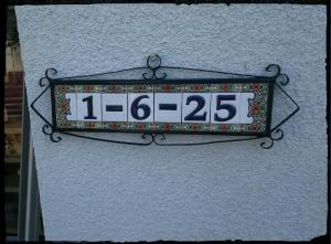 スペイン表札