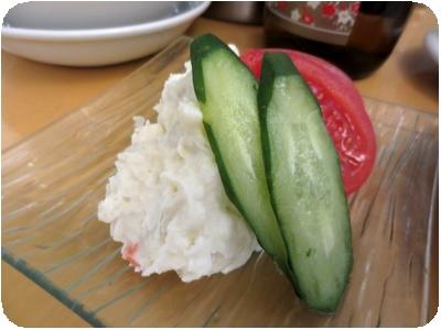 ポテトサラダ(サービス?)
