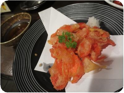 紅生姜天ぷら