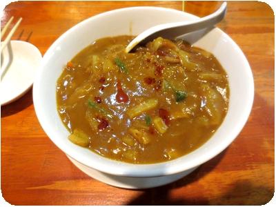 特製カレー麺
