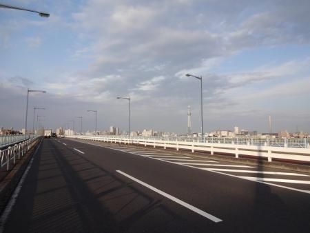 007平井大橋、スカイツリーきれい