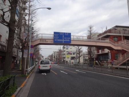 021この先左折、青梅街道→五日市街道