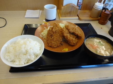 055ヒレカツ定食