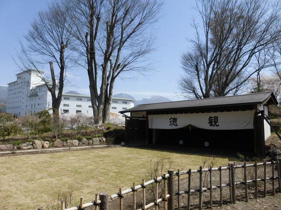 園内にある本格的な弓道場