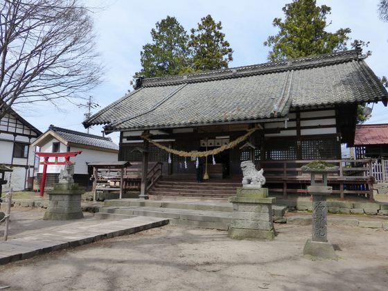 海野宿に佇む白鳥神社