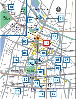 シクロシティステーションMAP201601月