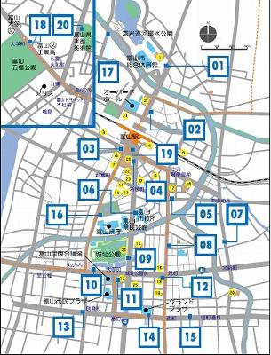 シクロシティステーションMAP2016年3月