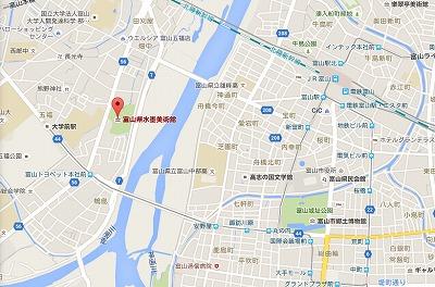 1富山県水墨美術館MAP