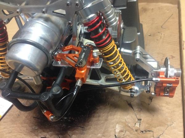 b305リヤ油圧ディスクブレーキ