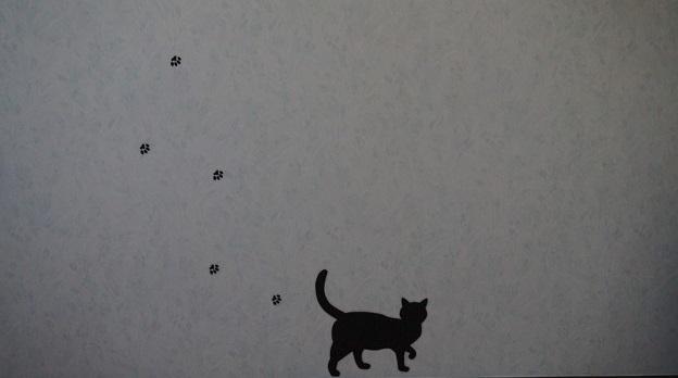 猫が現れた(=^・・^=)