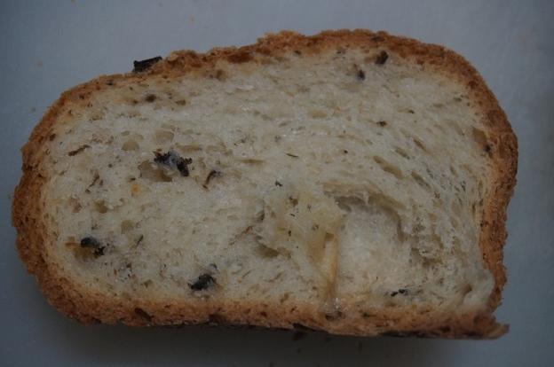フランスパンのような切り口