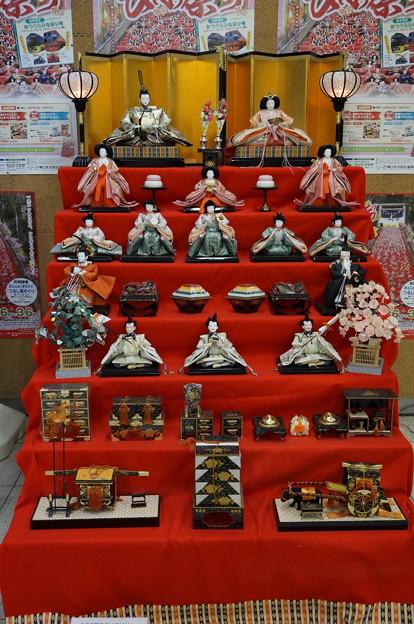 千駄ヶ谷のお雛様2016