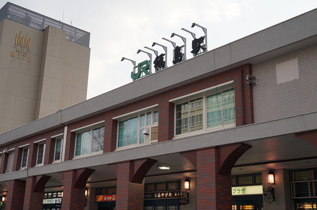 福島駅東口