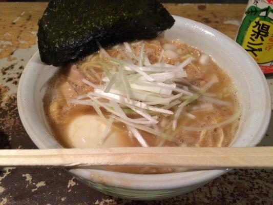 醤油拉麺+半熟煮玉子