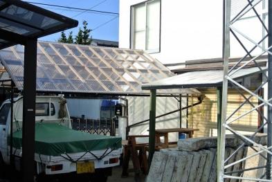 DIYテント屋根2