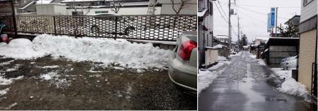 19-1-29 雪かき