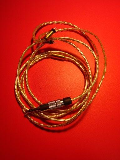 BEAT AUDIO製交換ケーブル・BEA-1757 SUPERNOVA for SHUREの断線の修理画像です。160218IMG_2137.jpg